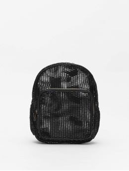 Urban Classics Backpack Lady Mesh Transparent  black