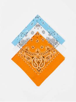 Urban Classics Bandana Multicolor Bandana 3-Pack orange