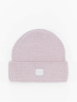Urban Classics Beanie Knitted Wool  violet