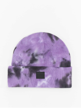 Urban Classics Beanie Tie Dye  violet