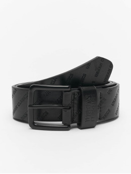 Urban Classics Belt Allover Logo  black