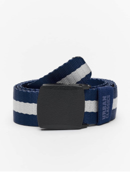 Urban Classics Belt Centre Stripe blue