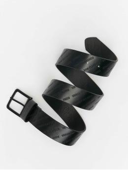 Urban Classics Belts Allover Logo  svart