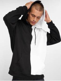 Urban Classics Bluzy z kapturem Oversized Harlequin czarny