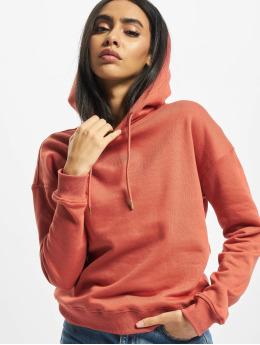 Urban Classics Bluzy z kapturem Ladies  czerwony