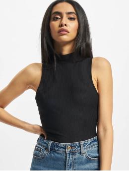 Urban Classics Body Ladies Sleeveless Rib czarny