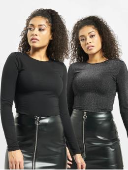 Urban Classics Body Ladies Lurex  2 Pack  plata