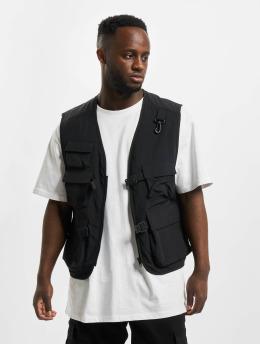 Urban Classics Bodywarmer Tactical Vest zwart