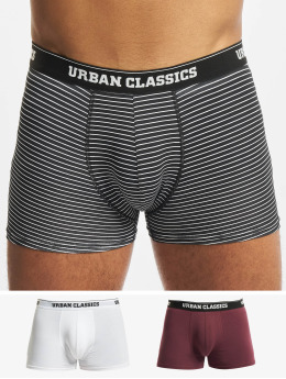 Urban Classics Bokserki Organic 3-Pack czarny