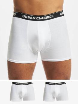 Urban Classics Boxerky Men 3-Pack bílý