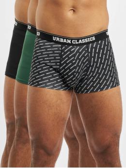 Urban Classics Boxerky 3-Pack zelená