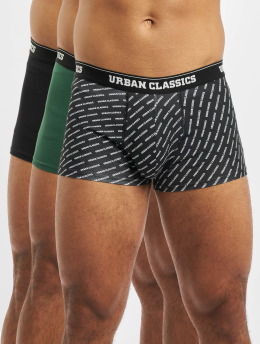 Urban Classics Boxershorts 3-Pack grün