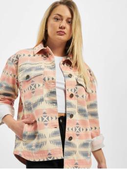 Urban Classics Bundy na přechodné roční období Ladies Inka Oversized barvitý