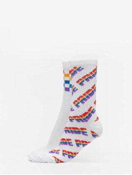 Urban Classics Calcetines Pride Racing Socks 2-Pack colorido