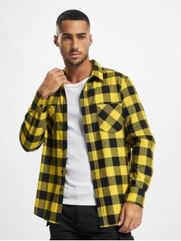 Urban Classics Camicia Checked Flanell nero
