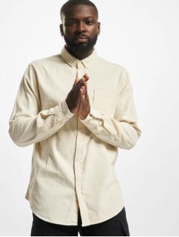 Urban Classics Camisa Corduroy  beis
