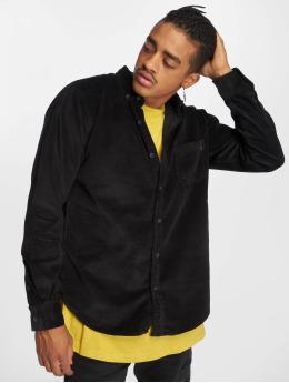 Urban Classics Camisa Corduroy negro