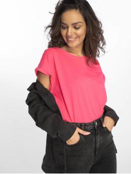Urban Classics Camiseta Extended Shoulder fucsia