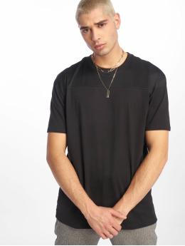 Urban Classics Camiseta Mesh Panel negro