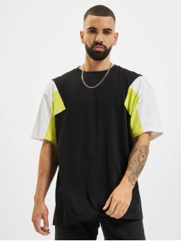 Urban Classics Camiseta 3-Tone negro