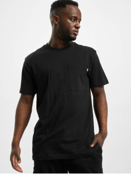Urban Classics Camiseta Basic Pocket negro
