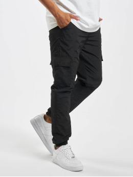 Urban Classics Cargo pants Cargo Nylon čern