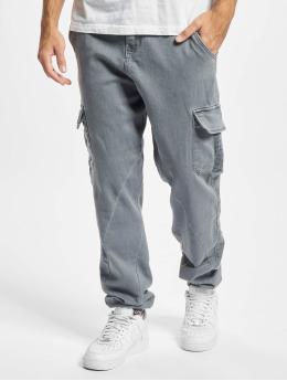 Urban Classics Cargo pants Knitted Cargo šedá