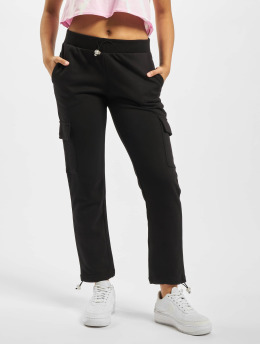 Urban Classics Cargo pants Cargo Terry black