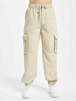 Urban Classics Cargobroek Ladies Viscose Twill beige