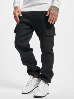 Urban Classics Cargobroek Knitted  zwart
