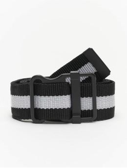 Urban Classics Ceinture Easy With Stripes  noir