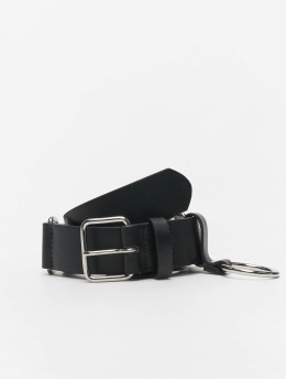 Urban Classics Ceinture Chain Imitation Leather noir