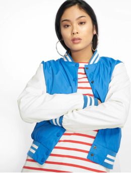 Urban Classics Chaqueta de béisbol Ladies Light azul