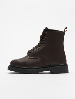 Urban Classics | Heavy Lace rouge Homme,Femme Chaussures montantes