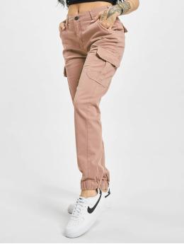 Urban Classics Chino bukser High Waist  rosa
