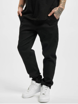Urban Classics Chino pants Knitted  black