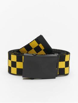 Urban Classics Cintura Adjustable Checker nero