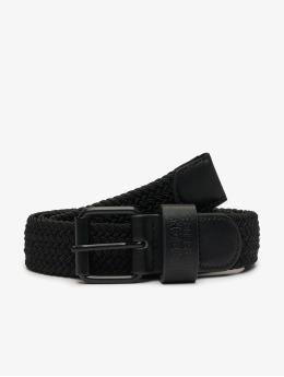 Urban Classics Cinturón Elastic negro