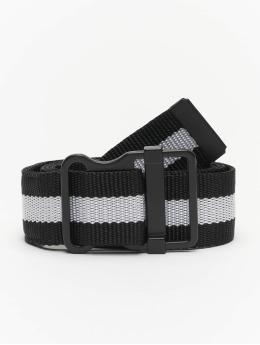 Urban Classics Cinturón Easy With Stripes  negro