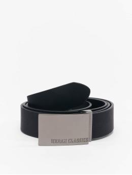 Urban Classics Cinturón Imitation Leather Business negro