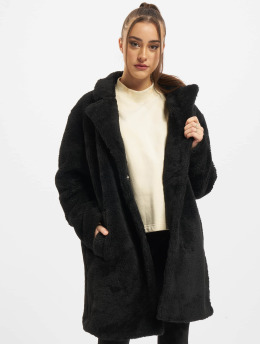Urban Classics Coats Ladies Oversized black
