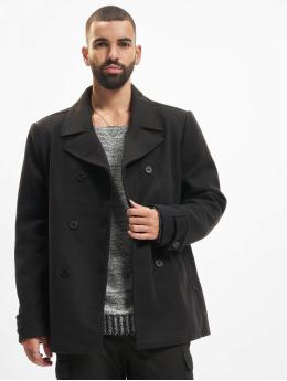 Urban Classics Coats Classic Pea  black