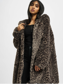 Urban Classics Coats Ladies Teddy grey