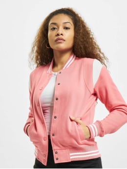 Urban Classics College Jacke Inset College pink