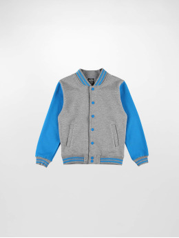 Urban Classics College Jacket Kids 2-Tone gray