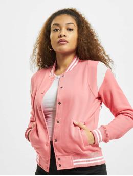 Urban Classics College Jacket Inset College pink