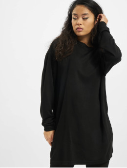 Urban Classics Dress Ladies Modal Terry black