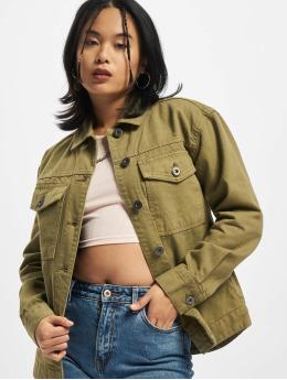 Urban Classics Farkkutakit Ladies Oversized Shirt  khakiruskea