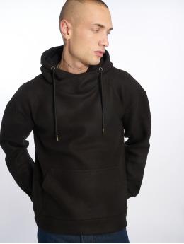 Urban Classics Felpa con cappuccio Polar Fleece nero