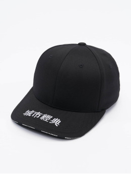 Urban Classics Flexfitted Cap Embroidered Logo black